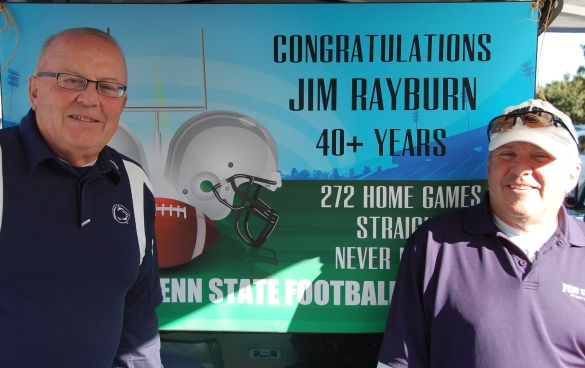 Jim (left) and Dave Rayburn