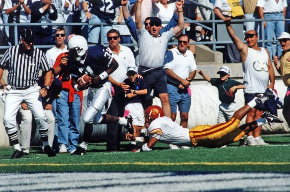 1994 Freddie Scott scores touchdown against USC at Beaver Stadium