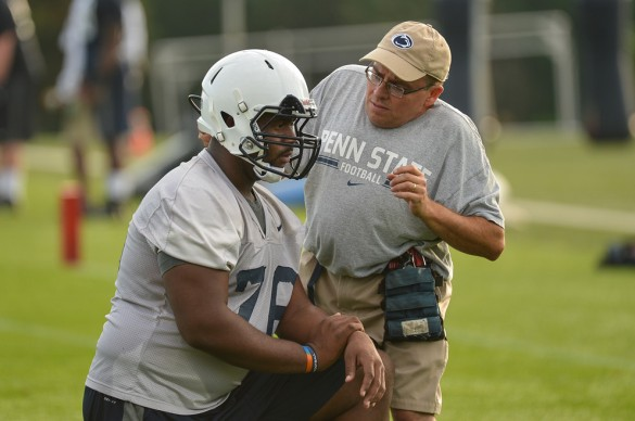 Nittany Lions open training camp. Photo by Mark Selders