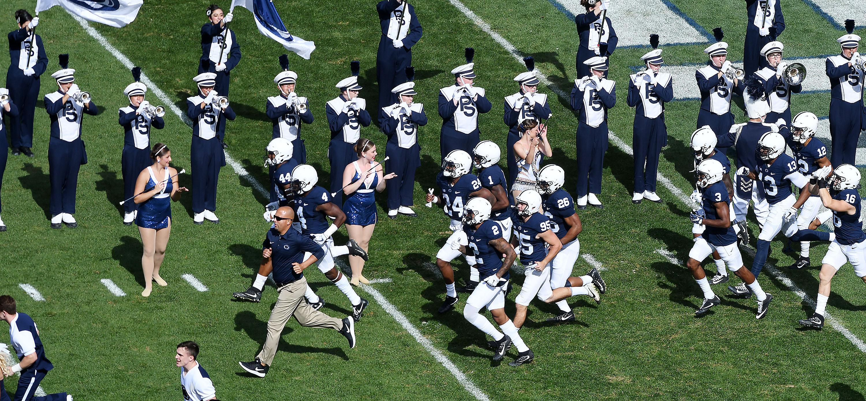Penn State v. PITT (Photo by Steve Manuel)