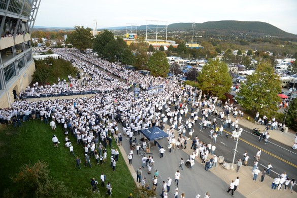 Penn State v. Michigan(Photo by Steve Manuel)