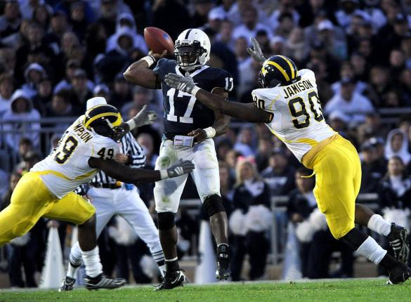 Penn State v. Michigan (Photo by Steve Manuel)