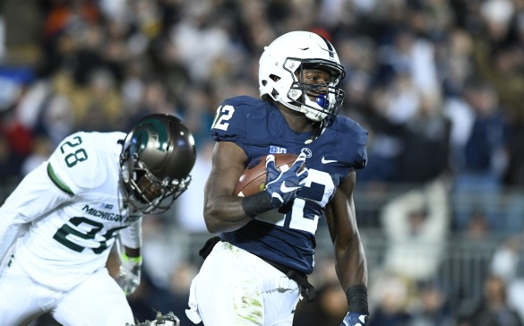 Penn State v. Michigan State (Photo by Steve Manuel)