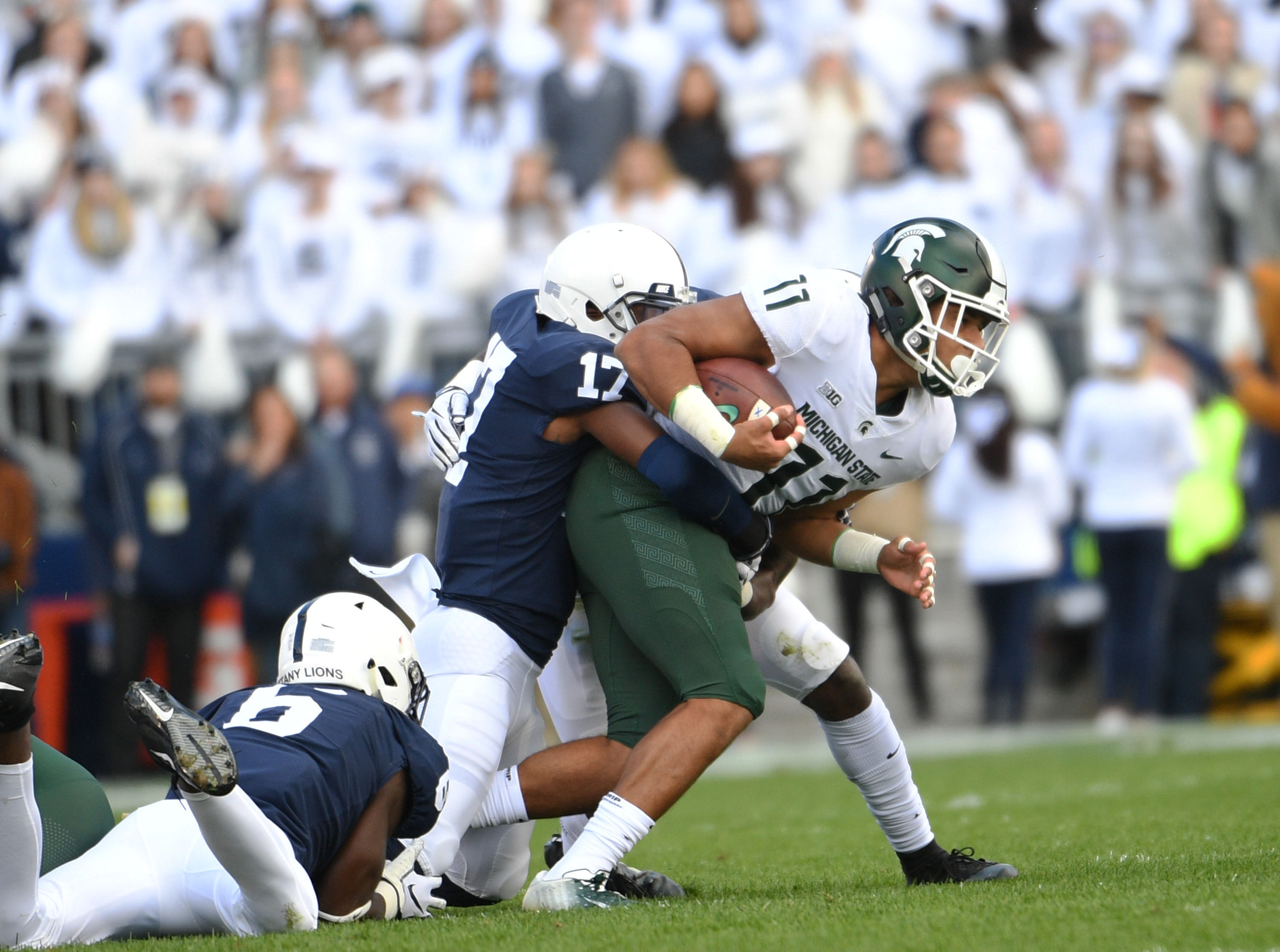 Penn State v. Michigan State 2018 (Photo by Steve Manuel)