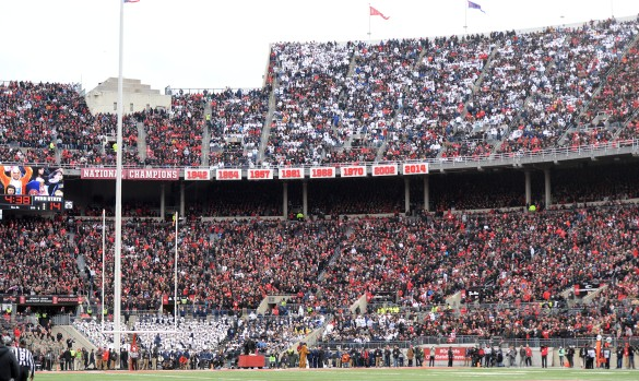 Penn State @ Ohio State (Photo by Steve Manuel)